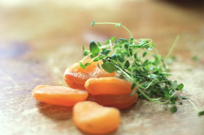 Apricot and Thyme